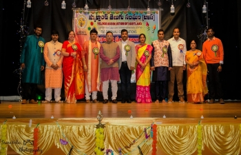 Consul General Mr. Hitesh Rajpal joined the Diwali celebrations organized by Telugu Association of Scotland on 2 November 2019. On the auspicious occasion, he wished all the community members a very happy and prosperous Diwali and interacted with community members and offered Consulate assistance during emergency situations.